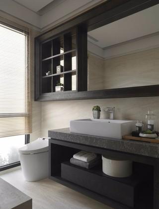 150平现代风格卫生间装修效果图