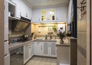 90㎡地中海风格厨房装修效果图