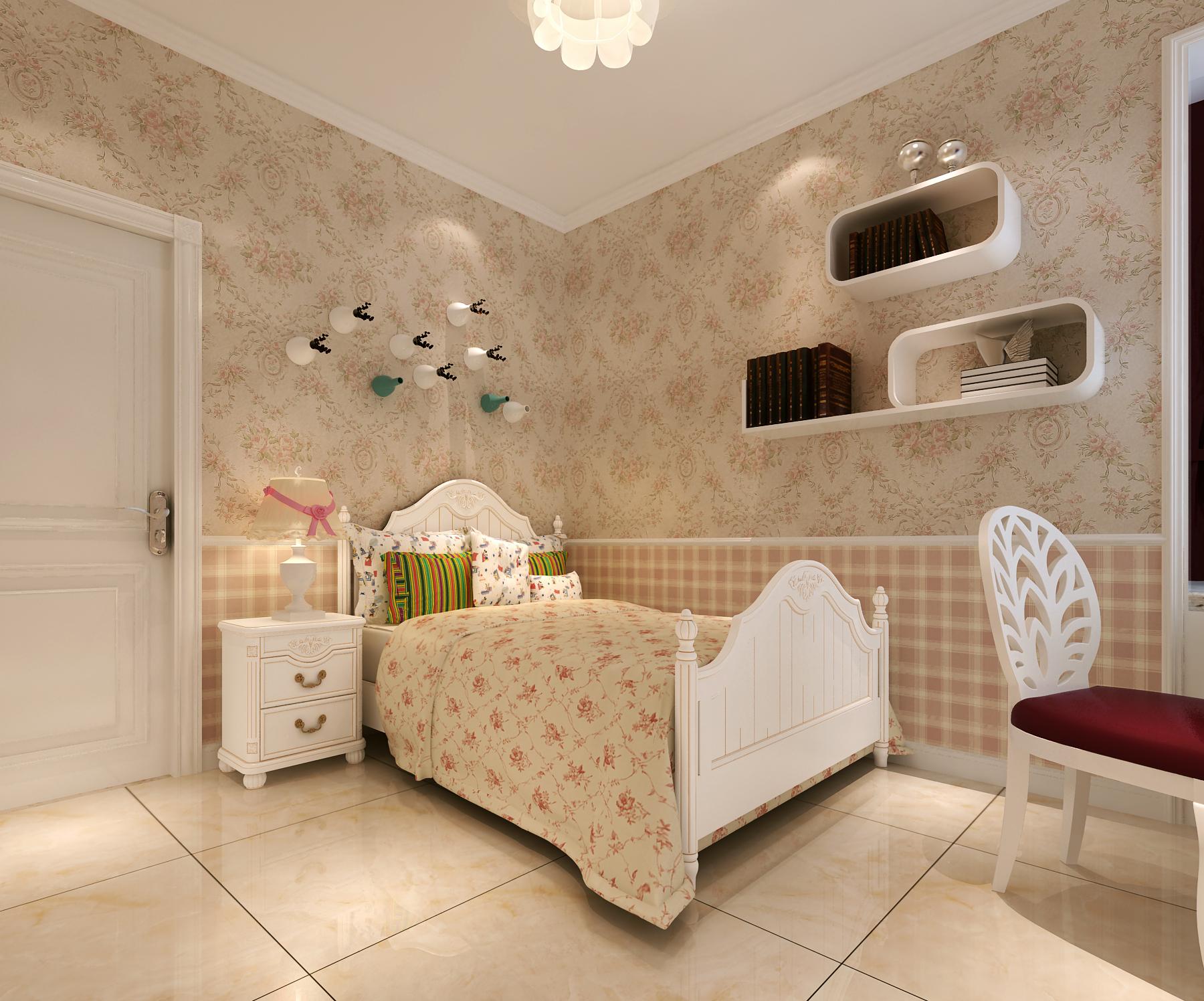 简欧风卧室装修设计图
