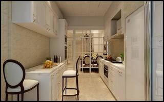 120㎡美式厨房装修效果图