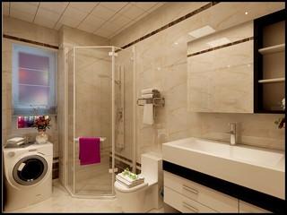 后现代两居室卫生间装修效果图