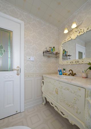 古典欧式风格浴室柜装修效果图