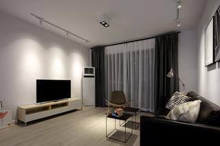 80平米简约风格客厅装修效果图