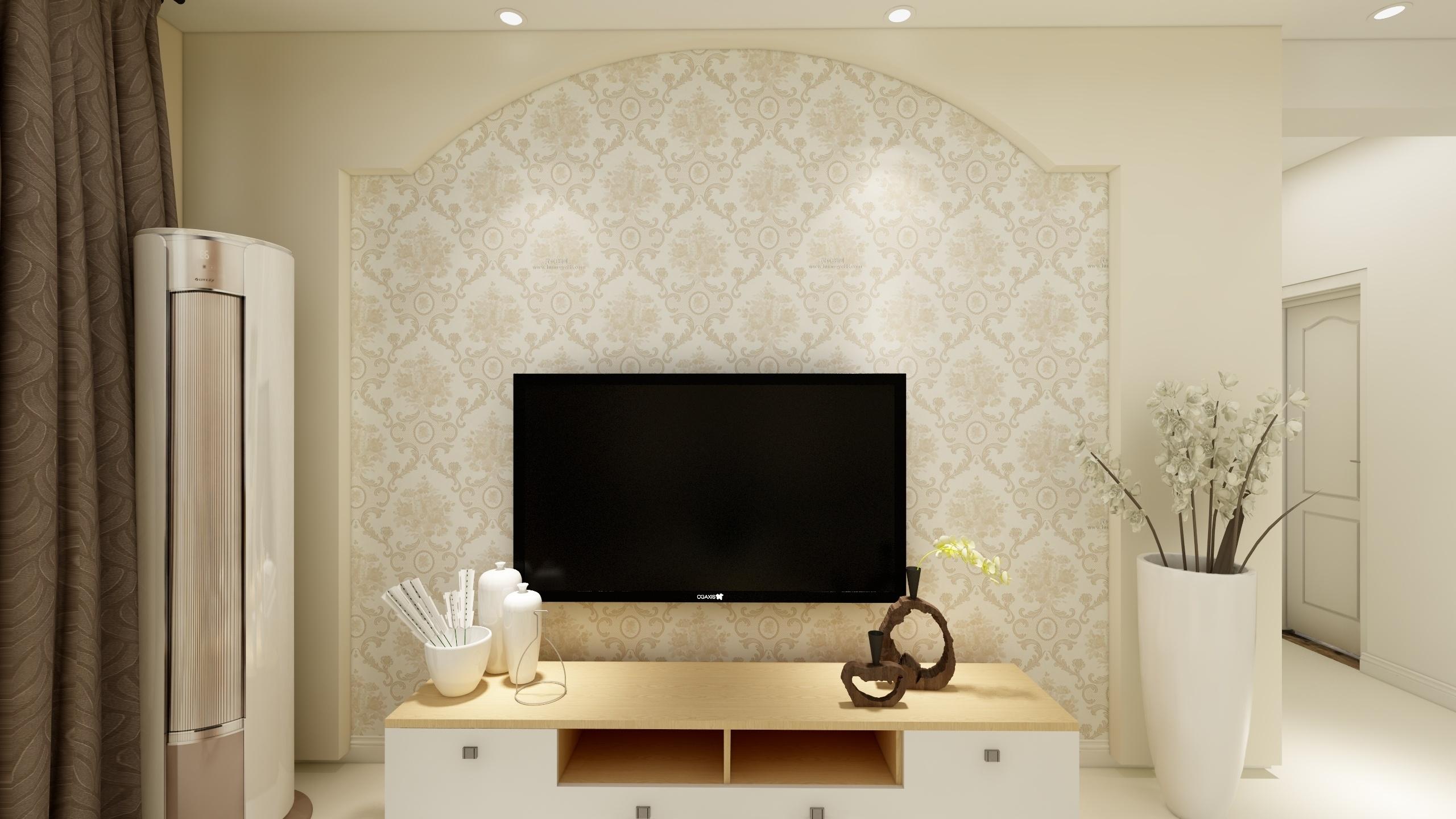 温馨简约电视背景墙装修效果图