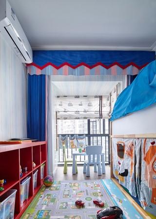 125㎡混搭风格儿童房装修效果图