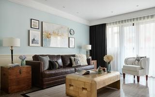 美式风格两居室装修设计图