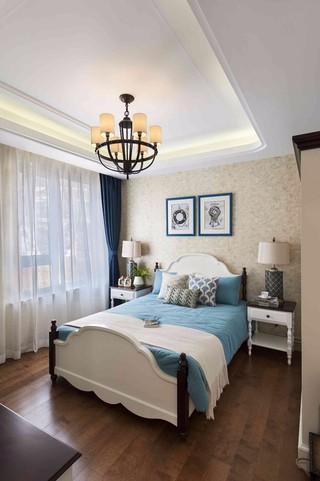 地中海风格三居卧室每日首存送20