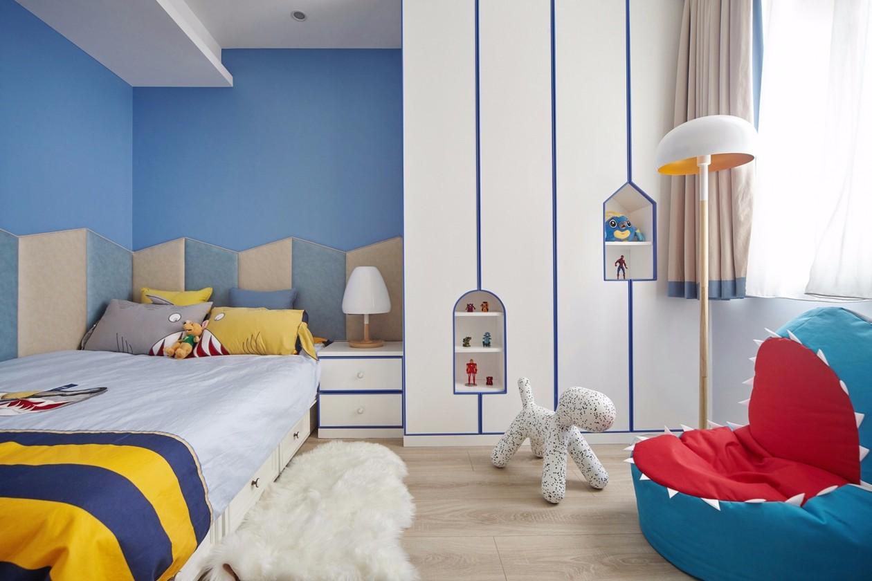 美式三居儿童房装修效果图