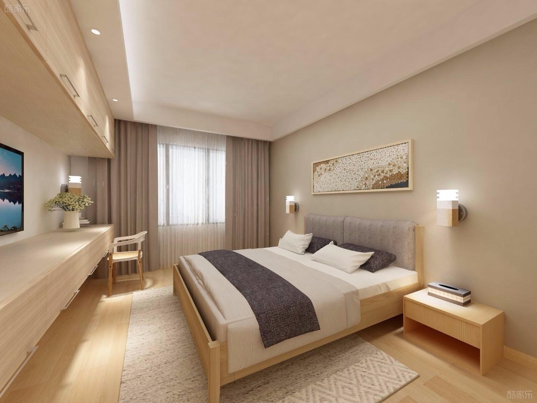 素雅中式风格卧室装修效果图