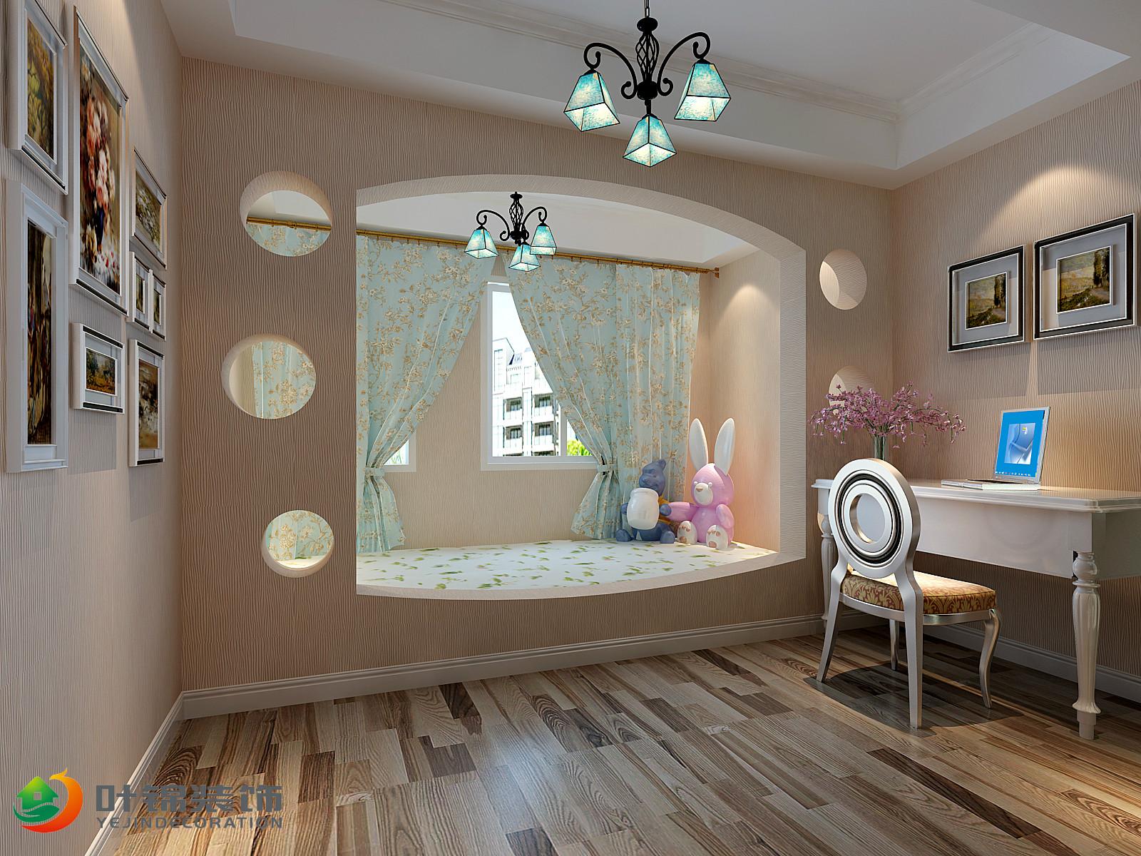 美式田园风格儿童房装修效果图