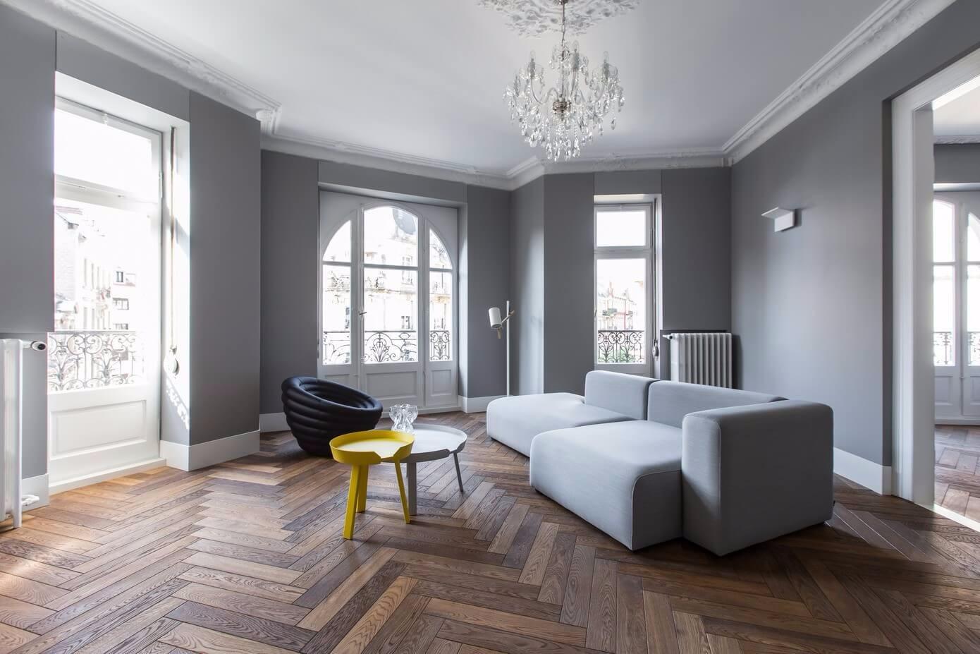 简约风格公寓客厅装修效果图
