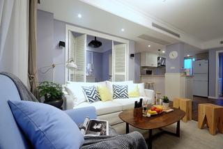 簡約美式客廳裝修設計圖