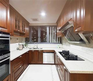 中式风格三居厨房装修效果图
