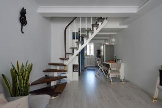 复式宜家风格楼梯装修效果图