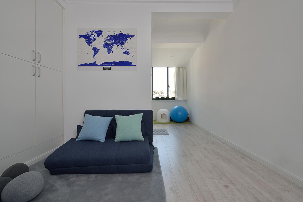 宜家风格走廊空间装修效果图