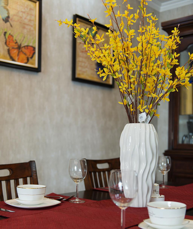 美式风格餐厅装饰小景