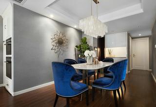 三居室美式风格餐厅装修效果图