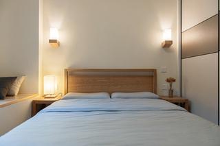 日式风格两居室装修卧室搭配图