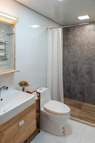 日式风格两居室卫生间装修效果图