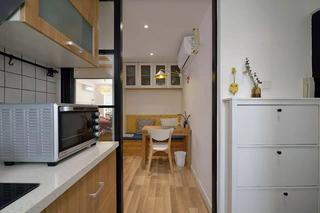 小户型两居室装修鞋柜设计图