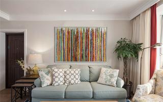 100平美式风格两居装修效果图