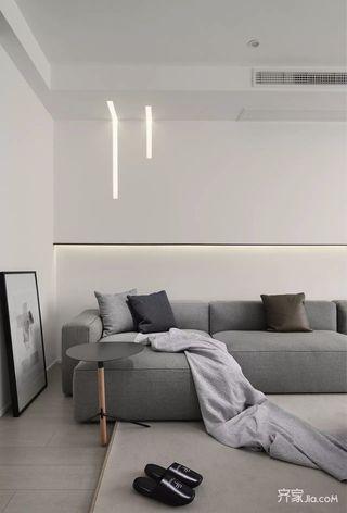 极简风格沙发背景墙装修效果图