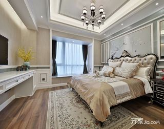 古典欧式风格别墅卧室装修效果图
