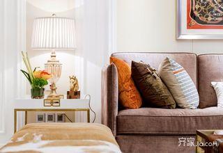 时尚轻奢风装修沙发一角