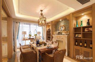 115㎡东南亚风格餐厅每日首存送20