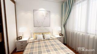 美式簡約臥室裝修效果圖