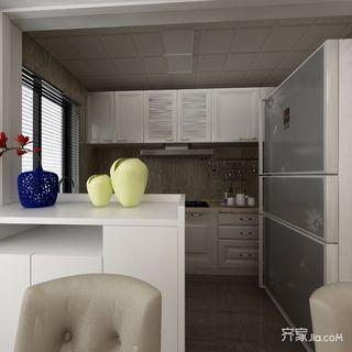 130平欧式三居厨房装修效果图
