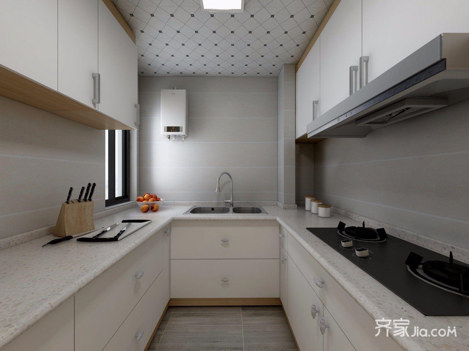 日式风格三居厨房装修效果图
