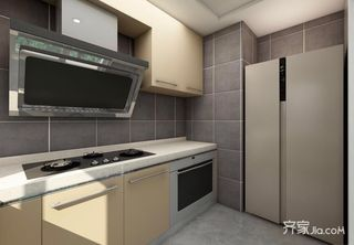 115平米二居室厨房装修效果图