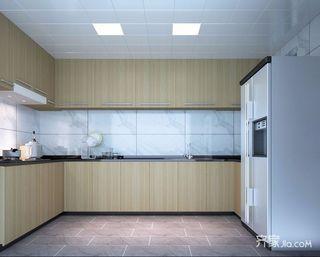 现代简约风大户型厨房装修效果图
