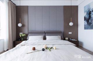 150㎡现代简约风格床头背景墙装修效果图