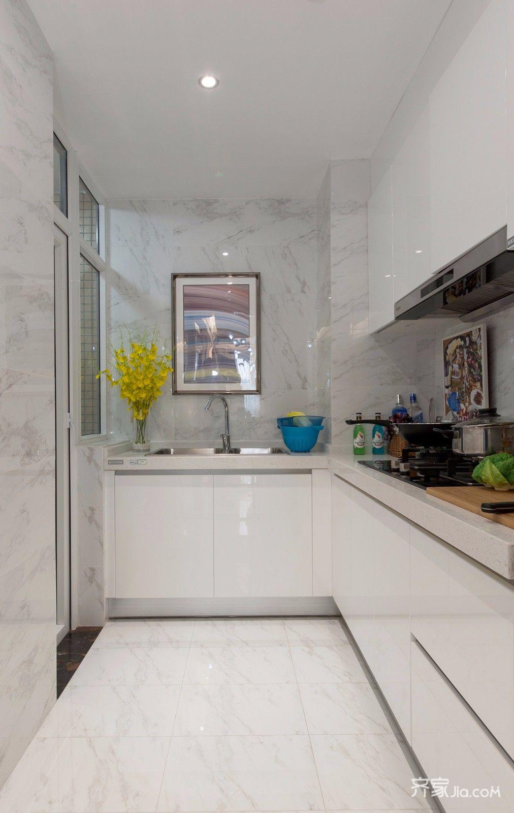 后现代风格两居室厨房装修效果图