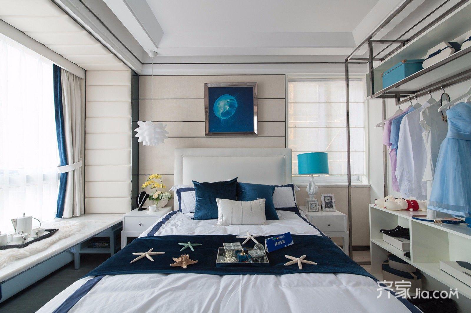 后现代风格两居卧室装修效果图