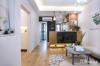小户型北欧二居室装修效果图