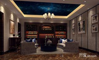 250平欧式风格别墅休闲室装修效果图