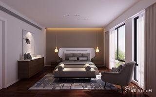 大户型简约风格别墅卧室装修效果图