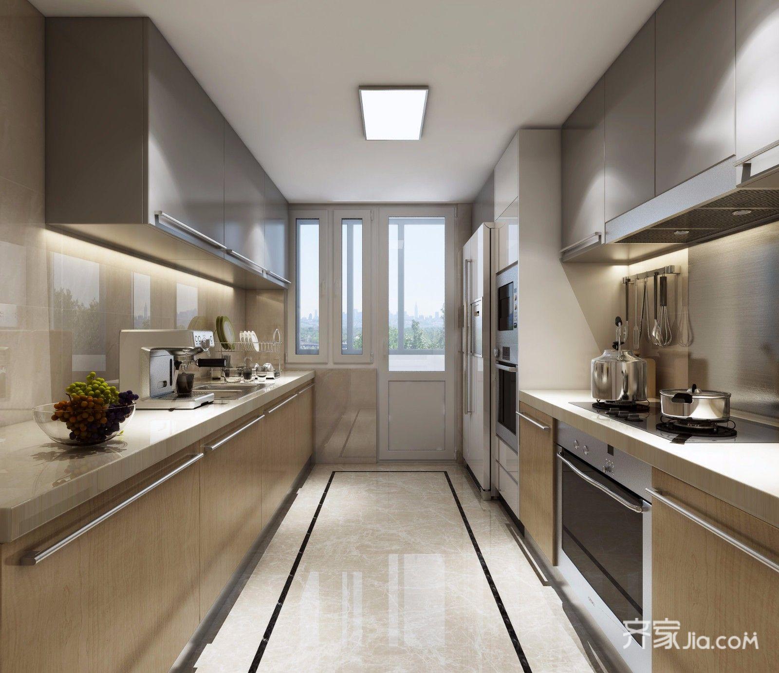 小户型简欧风格两居厨房装修效果图