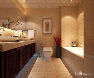 欧式大户型别墅卫生间装修效果图