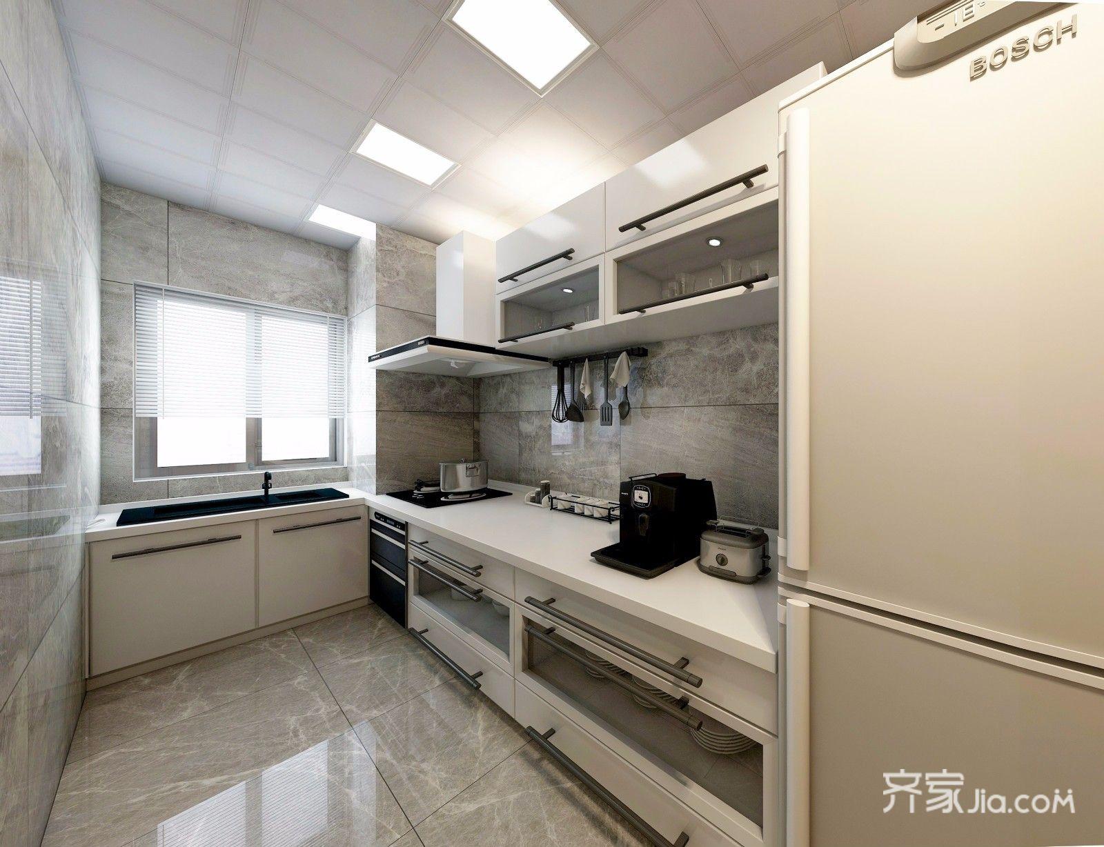 75平现代风格两居厨房装修效果图
