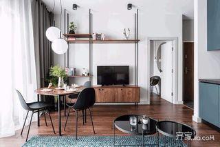 小户型现代风公寓装修效果图