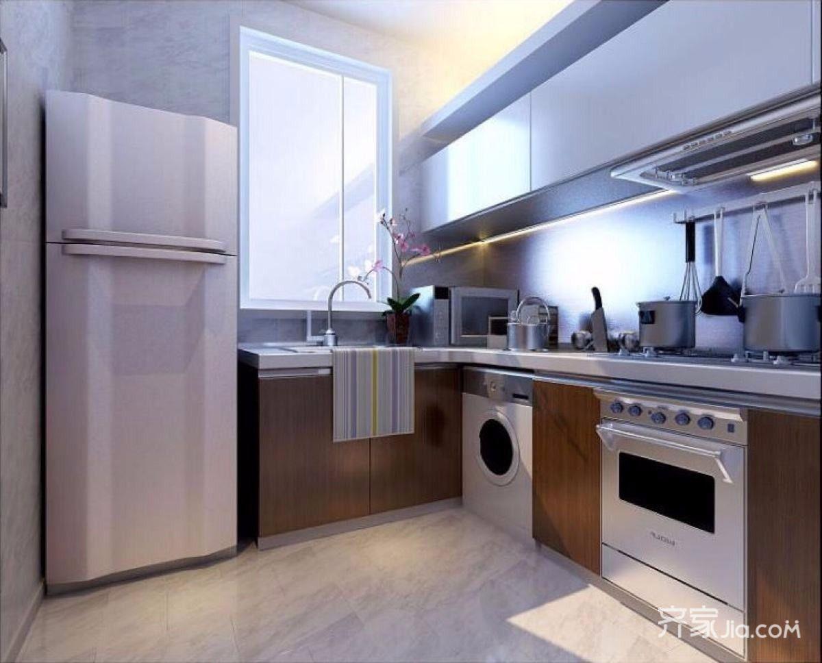150平现代简约四居厨房装修效果图