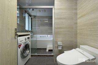 简约风格两居室卫生间装修效果图