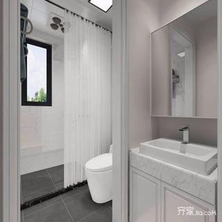 70㎡简约风格两居卫生间装修效果图