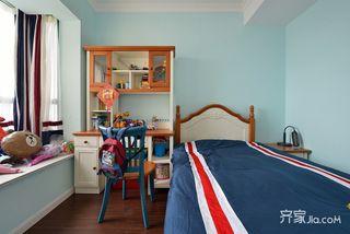 160㎡欧式风格三居儿童房装修效果图