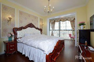 160㎡欧式风格三居卧室装修效果图