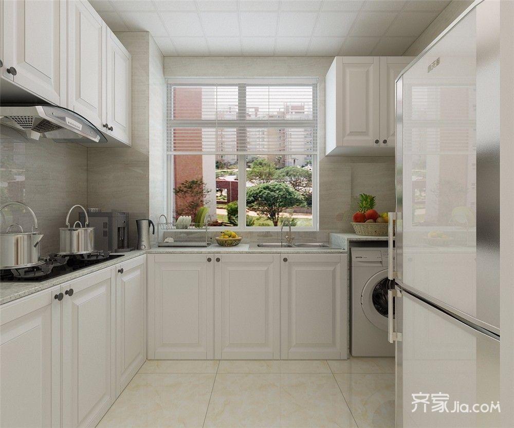 50平简约风格一居厨房装修效果图